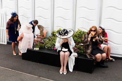 GB. England. Merseyside. The Grand National. Aintree. Ladies Day. 2016.