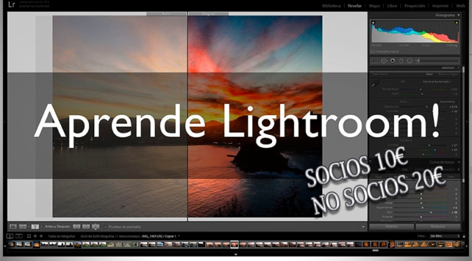TALLER DE INICIACIÓN A ADOBE PHOTOSHOP LIGHTROOM